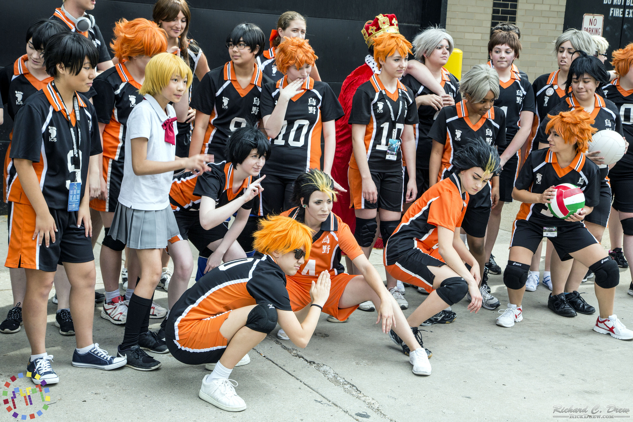 Sports Cosplayers